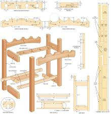Wine Rack Plans Build