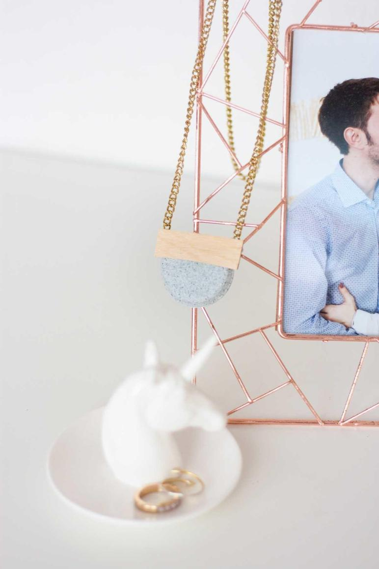 Won Believe Diy Geometric Necklace Made