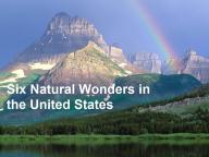 Wonders South America