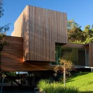 Wood Cladding Kew House Melbourne