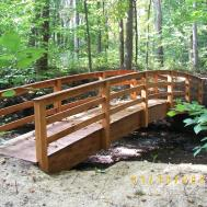 Wooden Footbridges