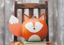 Woodland Creature Carve Pumpkins