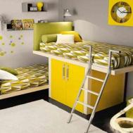 Yellow Bedroom Ideas Small Shared Kids