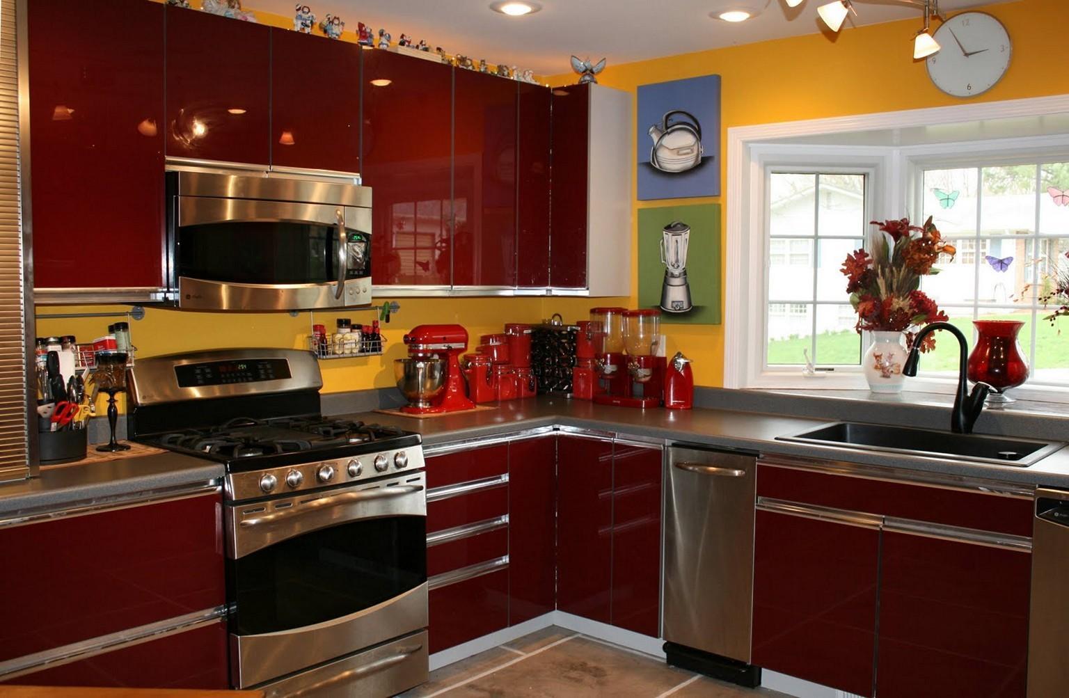 Yellow Black Kitchen Decor Imgkid Decoratorist 3821