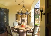 Yellow Traditional Dining Room Decorating