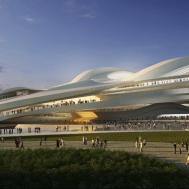 Zaha Hadid Architects Reveals Modified Tokyo National