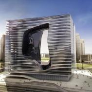 Zaha Hadid Designs New Office Building Hotel Dubai