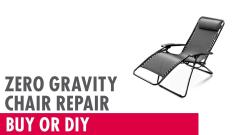 Zero Gravity Chair Repair Buy Diy