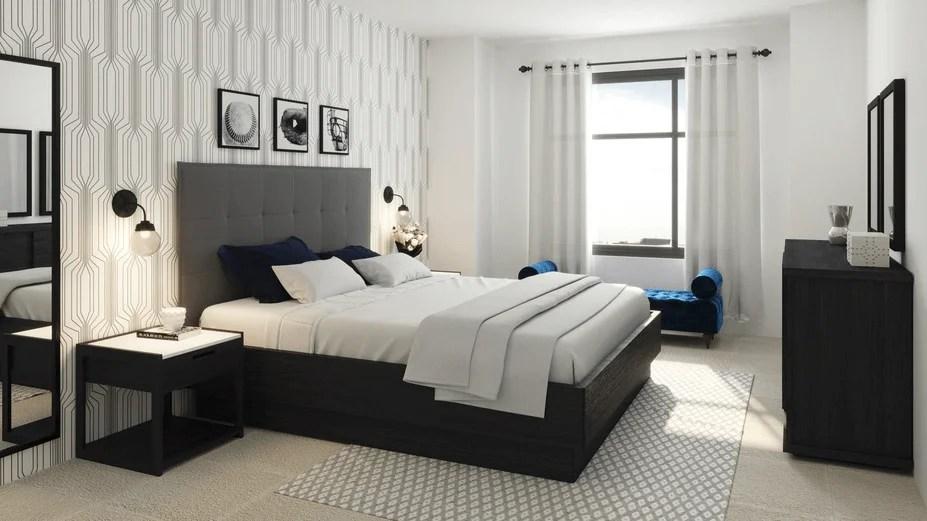 Before After Modern Online Living Room Design Decorilla Online