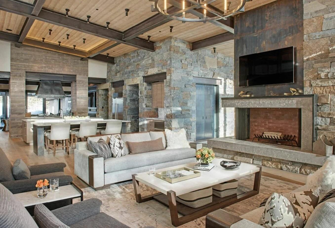 Contemporary Rustic Interior Design Ideas   Home Design Ideas