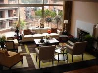 Geometric Rug - Contemporary - living room - HGTV