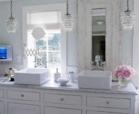 Shabby Chic Bathroom - Cottage - bathroom - Elle Decor