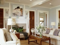 Light Blue Wall Paint - Cottage - living room - Benjamin ...