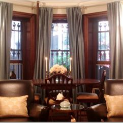 Leather Dining Chairs Pottery Barn Revolving Chair For Study Room Bay Window - Transitional Living Teresa Meyer Interiors