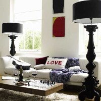 Baroque Floor Lamps - Contemporary - living room - House ...