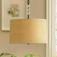 Linen Pendant Lamp   Decorative Lighting   Wisteria