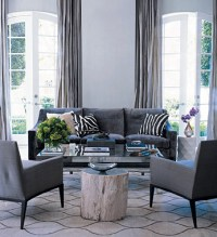 Charcoal Gray Sofa Design Ideas