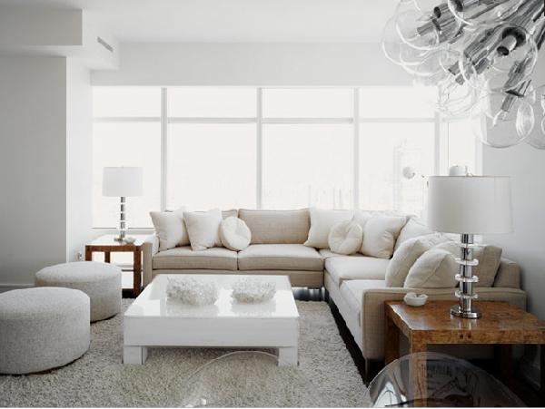 Lacquered Coffee Table Contemporary  living room