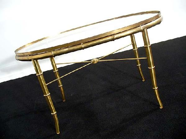 gold glass sofa table chaise bed melbourne golden faux bamboo coffee end
