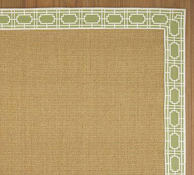 kitchens for less kitchen dish rack brown and green grid jacquard border sisal rug
