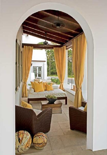 Outdoor Curtains Design Ideas