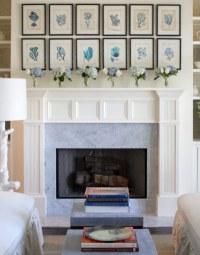 Art Over Fireplace Design Ideas