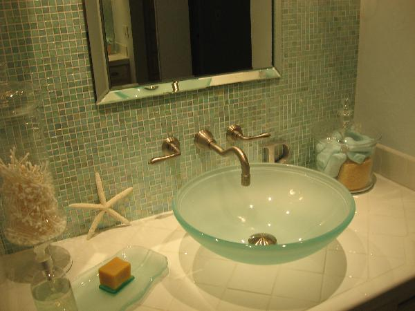 Frosted Glass Sink