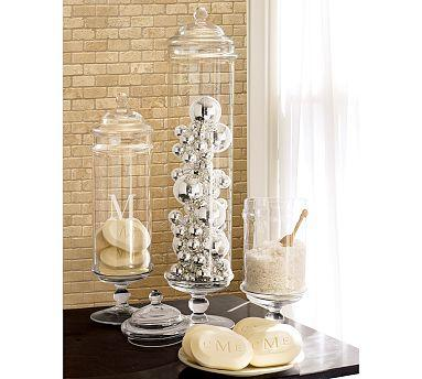Classic Clear Glass Apothecary Jar