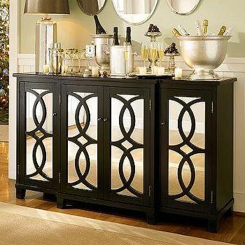 Z Gallerie  Omni Mirrored Buffet