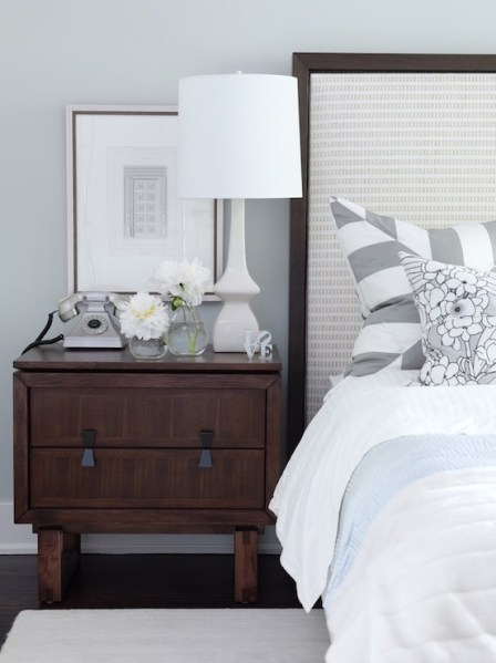silver blue gray bedroom paint colors Gray Bedroom Paint Colors - Transitional - bedroom - ICI