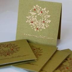 West Elm Living Rooms How To Clean Room Floor Tiles Green And Gold Mini Christmas Cards