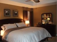 warm, brown, and simple master retreat - Bedrooms - Rate ...