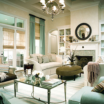French Coffee Table  Transitional  Living Room  My Home