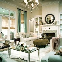 Seafoam Living Rooms Design Ideas