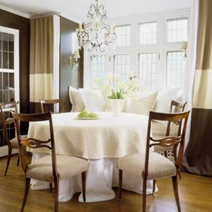 bamboo dining chairs gold coast royal blue accent chair horizontal striped curtains design ideas
