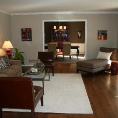 Brown Leather Slipper Chair Knoll Saarinen Red And Living Room - Transitional Benjamin Moore Grant Beige