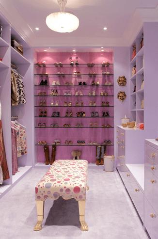Shelves for Shoes  Contemporary  closet  Drake Design