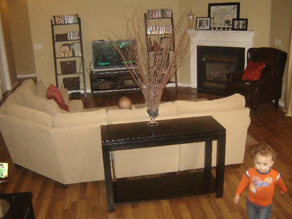 great living room furniture built in