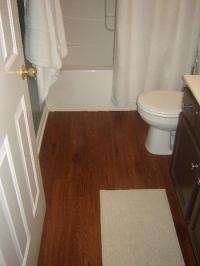 Vinyl Wood Plank Bathroom Floors
