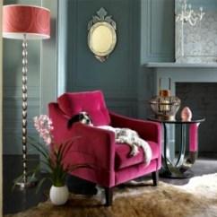 Victorian Accent Chair Desk In Kitchen Pink Velvet Design Ideas