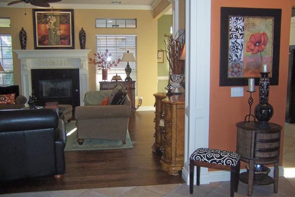 Living Room  Sherwin Williams blonde
