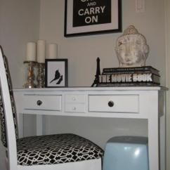 Desk Chair Pad Covers North Cheam Nook - Transitional Den/library/office Benjamin Moore Barren Plain Wallpaper