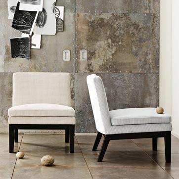 upholstered slipper chair video gaming chairs west elm link on pinterest view full size