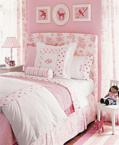 Little Girl's Pink Room