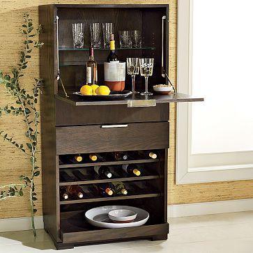Everywhere Storage Bar  Wine Storage  west elm