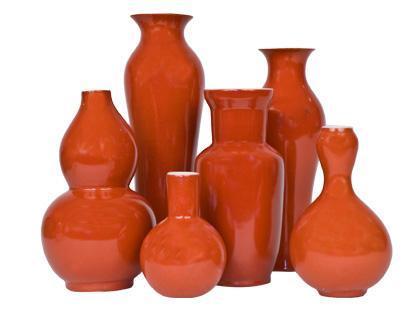 Jayson Home  Garden  accessories  vases  PERSIMMON