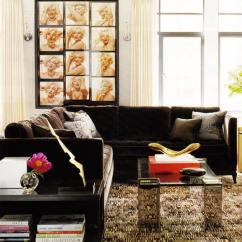Rug Size For Living Room With Sectional Help Me Decorate My Brown Velvet - Transitional