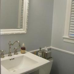 Gray Chair And A Half Tall Back Office Chairs Powder Room Paint Colors Design Ideas