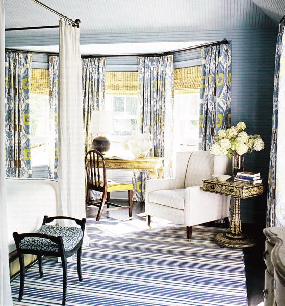 swivel chaise lounge chair hanging edmonton brown yellow and blue striped drapes design ideas
