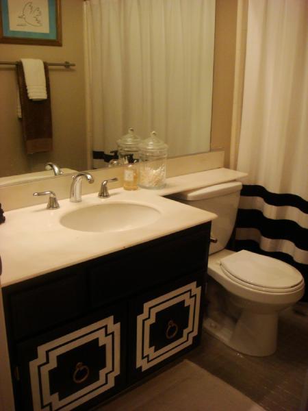 Bathroom  Sherwin Williams accessible beige